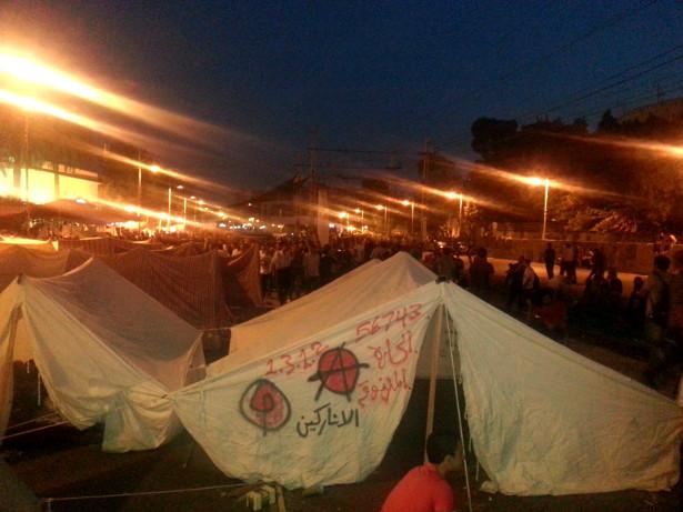 Der Anarchismus blickt auf eine lange Geschichte zurück im Arabischen Raum. Hier am Tahrir in 2011