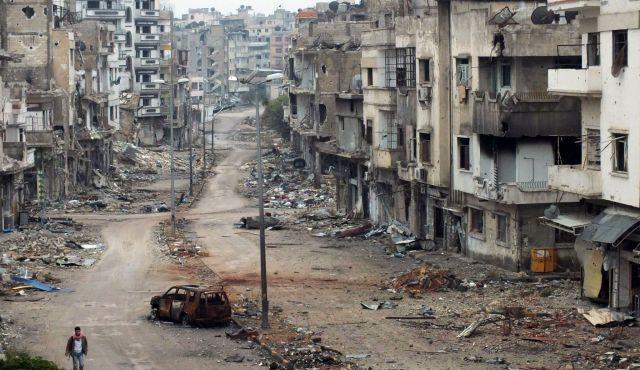 Homs, Syria, 2012.