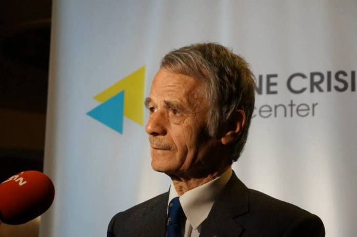 Dzhemilev, parliamentary deputy of the Tatar minority in Kyiv: ahead of the 18th May commemoration of the forced transfer executed by Stalins Red Army of 1944. As Russia adapts a threatening tone, tensions are rising.