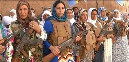 The entire population of Rojava has armed itself in order to resist ISIS