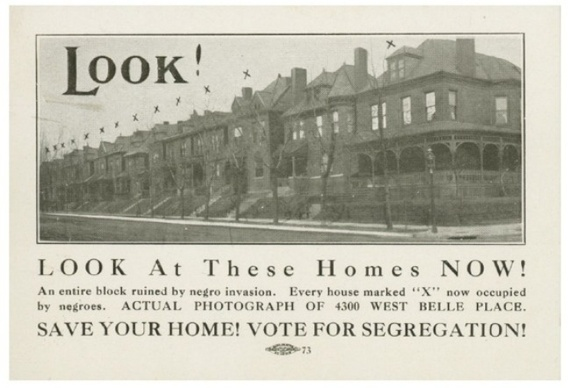 A 1916 leaflet proposes to segregate St. Louis. The measure passed. (Missouri History Museum Library and Research Center)