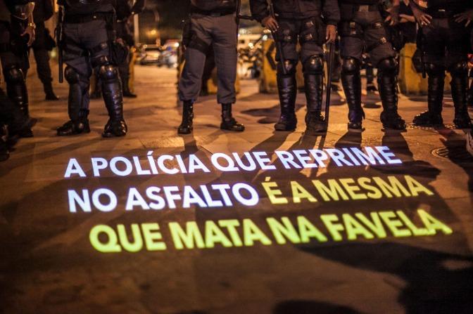 Ato Nacional Protesto Nao e Crime