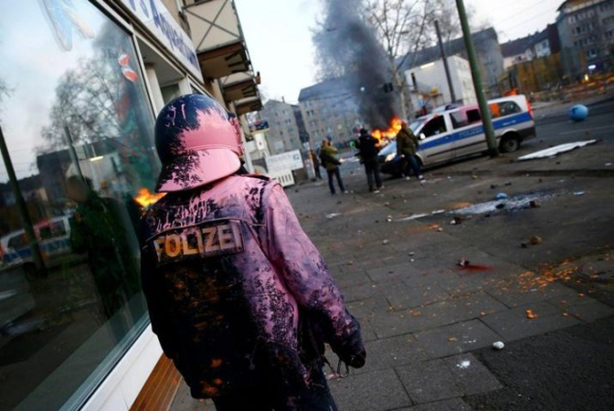 """Violence"" at Blockupy: Enough with the Hypocrisy!"