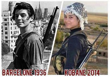 Die Mujeres Libres aus Kobane?
