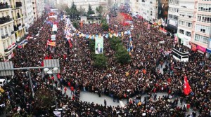 Child of hope: Millions of people marched and mourned at Berkin Elvan's funeral in 2014