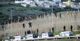 melilla-migrants