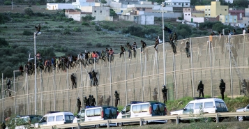melilla-migrants
