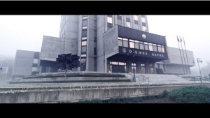 Varna City Hall (video still from 'Flame')