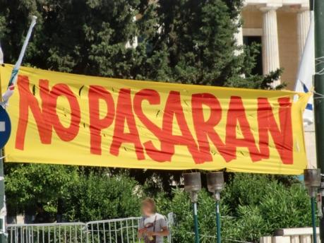 No Pasaran Athens