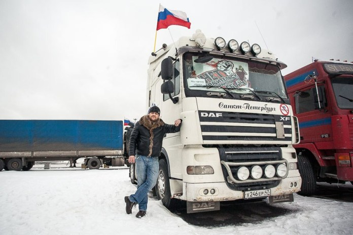 Vladimir, 32, individual entrepreneur. Has worked as a heavy-duty freight driver for 10 years, the last three on his own rig. Married with child.