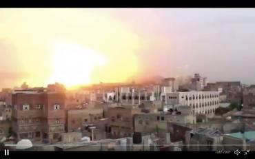 SaudiStrikeSanaa-Ahmed