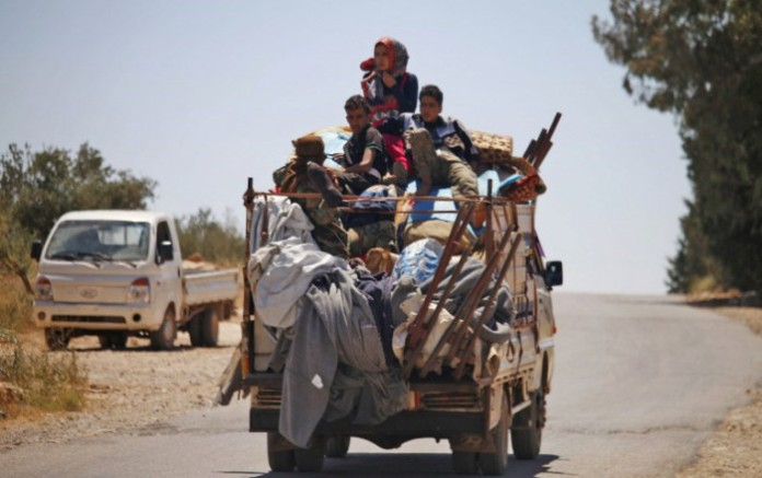 displaced-civilians-flee-daraa